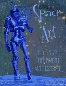 Space Art 2012 Poster