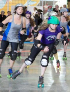 The Babes of Wrath roller derby team's next bout is Sunday, June 9 at Allen Park.