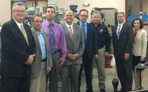 Congressman Tom Reed met Thursday morning, May 2 with officials from the Manufacturers Association of the Southern Tier.